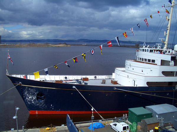 Royal Yacht Britannia vedlikeholdes med Owatrol