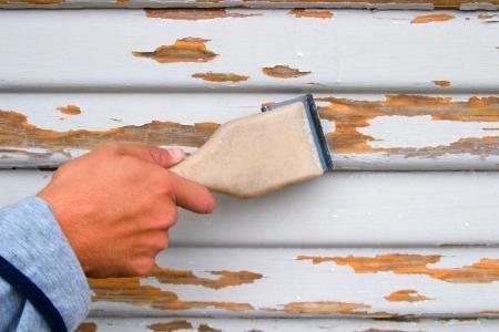 Hvordan behandle rekkverk, toppbord, vinduer og dører som flasser!